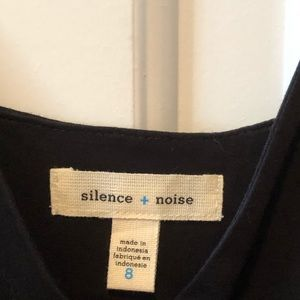 silence + noise Dresses - Black sundress from Urban Outfitters